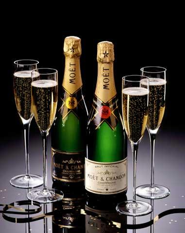 Новогодняя акция Шампанское